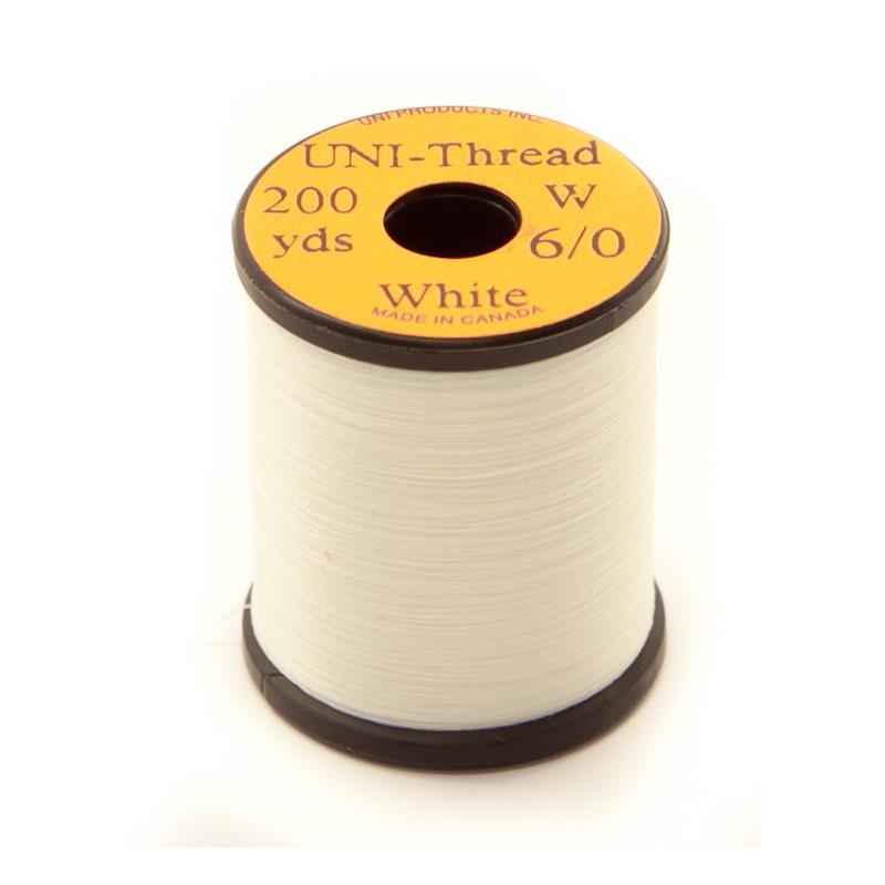 UNI bindetråd 6/0 - White 200y