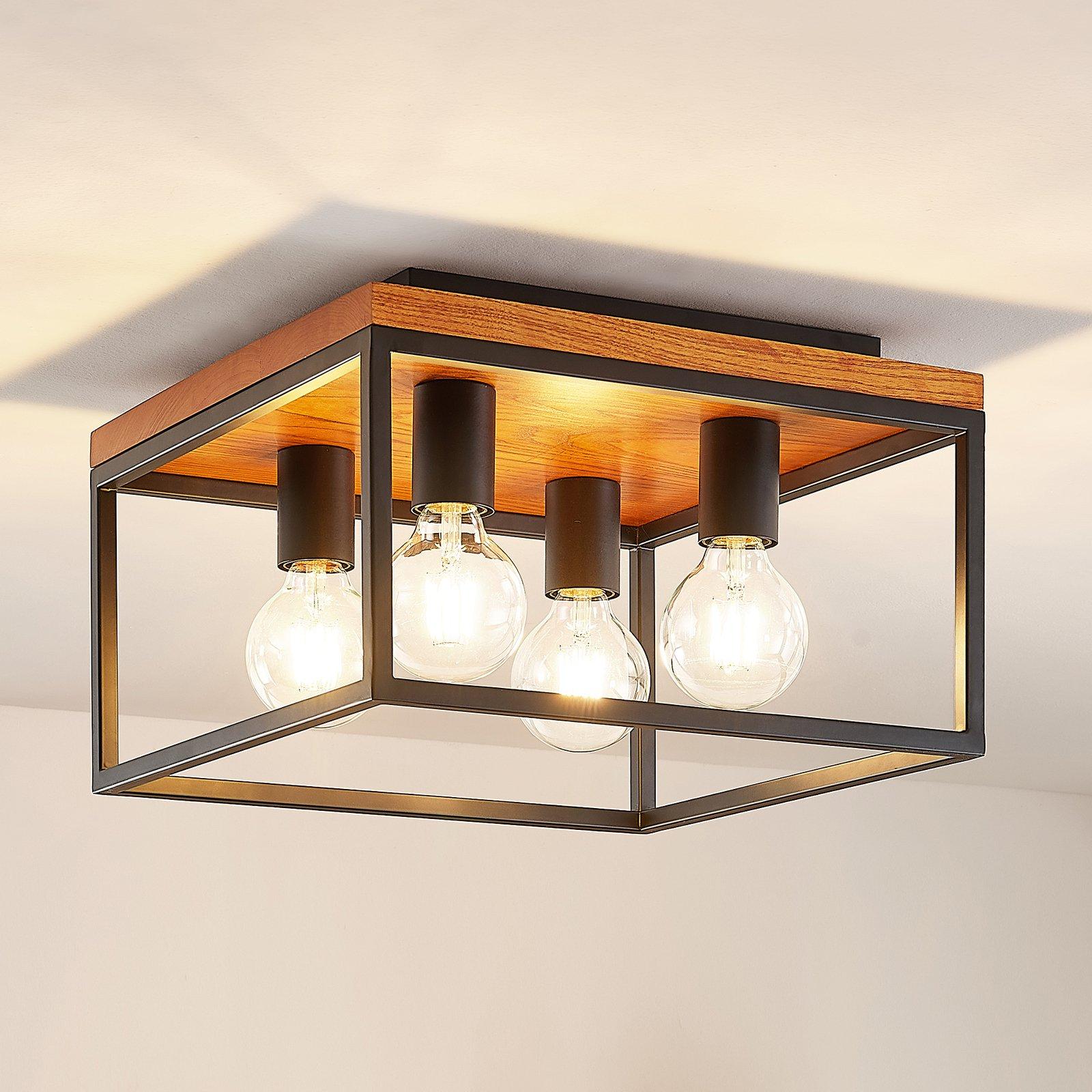 Lindby Miravi taklampe, 4 lyskilder