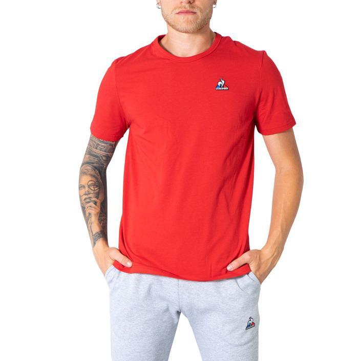 Le Coq Sportif Men's T-Shirt Red 305022 - red M