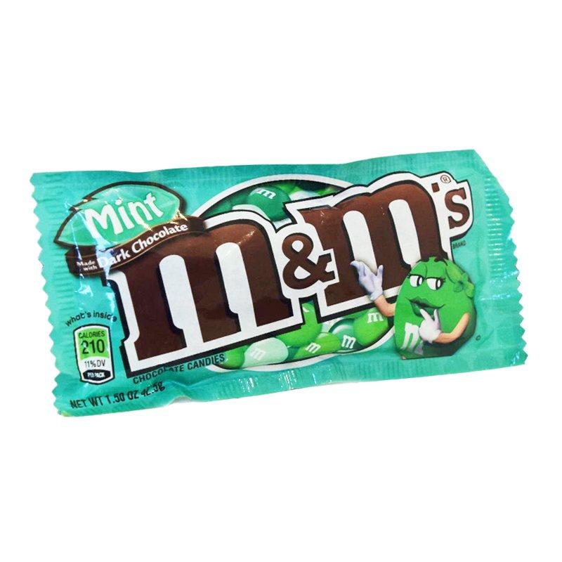M&M Tumma suklaa & Minttu 42,5 g - 39% alennus
