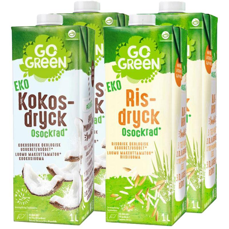 Växtbaserade Drycker 4 x 1l - 54% rabatt