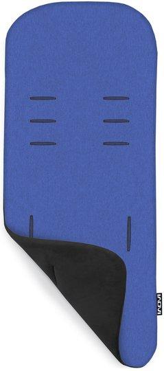 Inovi Memory Foam Sittepute Vendbar, Black/Blue Melange