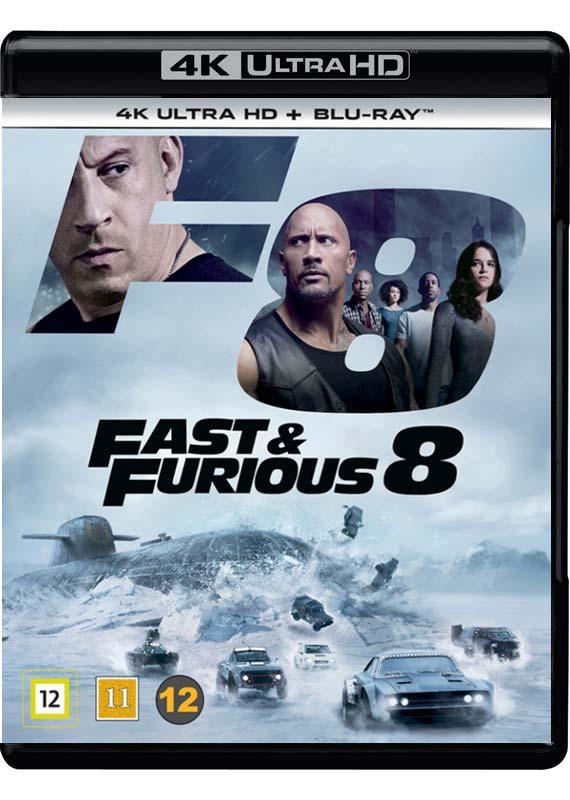 Fast & Furious 8 (4K Blu-Ray - 2D Blu-Ray)