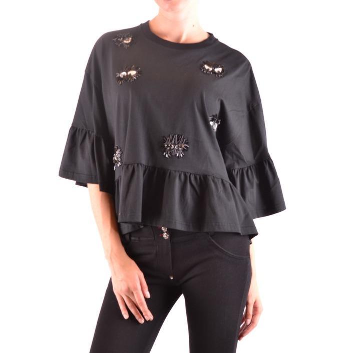 Alexander Mcqueen Women's Top Black 164373 - black S