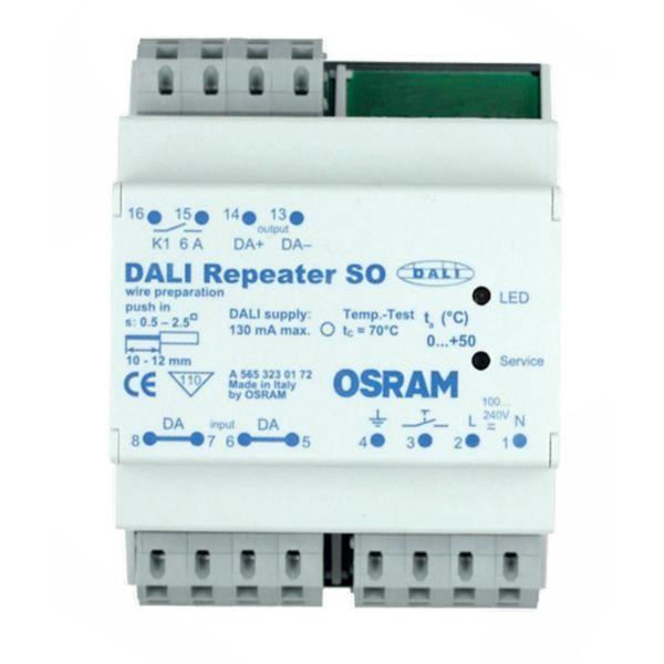 Osram DALI Repeater SO Toistin valaistuksen ohjaukseen