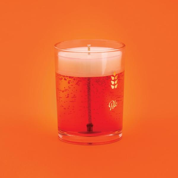 Ale Beer Candle