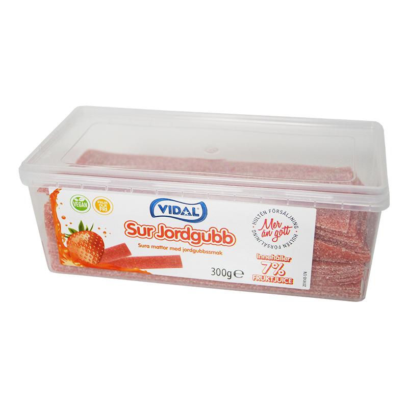 Sura Jordgubbsmattor - 300 gram