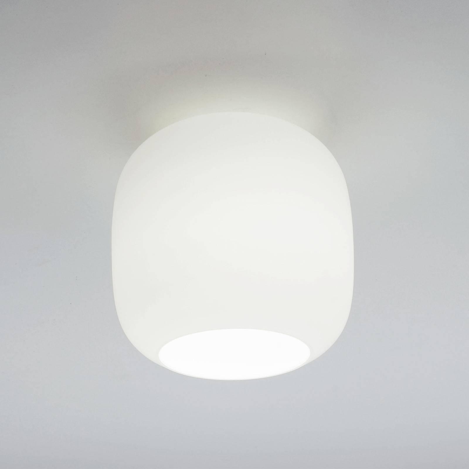 Casablanca Murea taklampe, opalhvit, Ø 25 cm