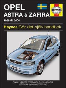 Haynes Reparationshandbok, Opel Astra & Zafira, Universal