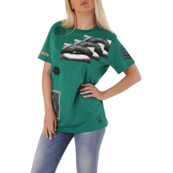 Diesel Women's Short Green 302516 - green XS