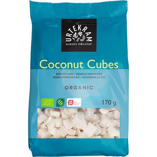 Urtekram Food Ekologiska Kokostärningar, 170 g