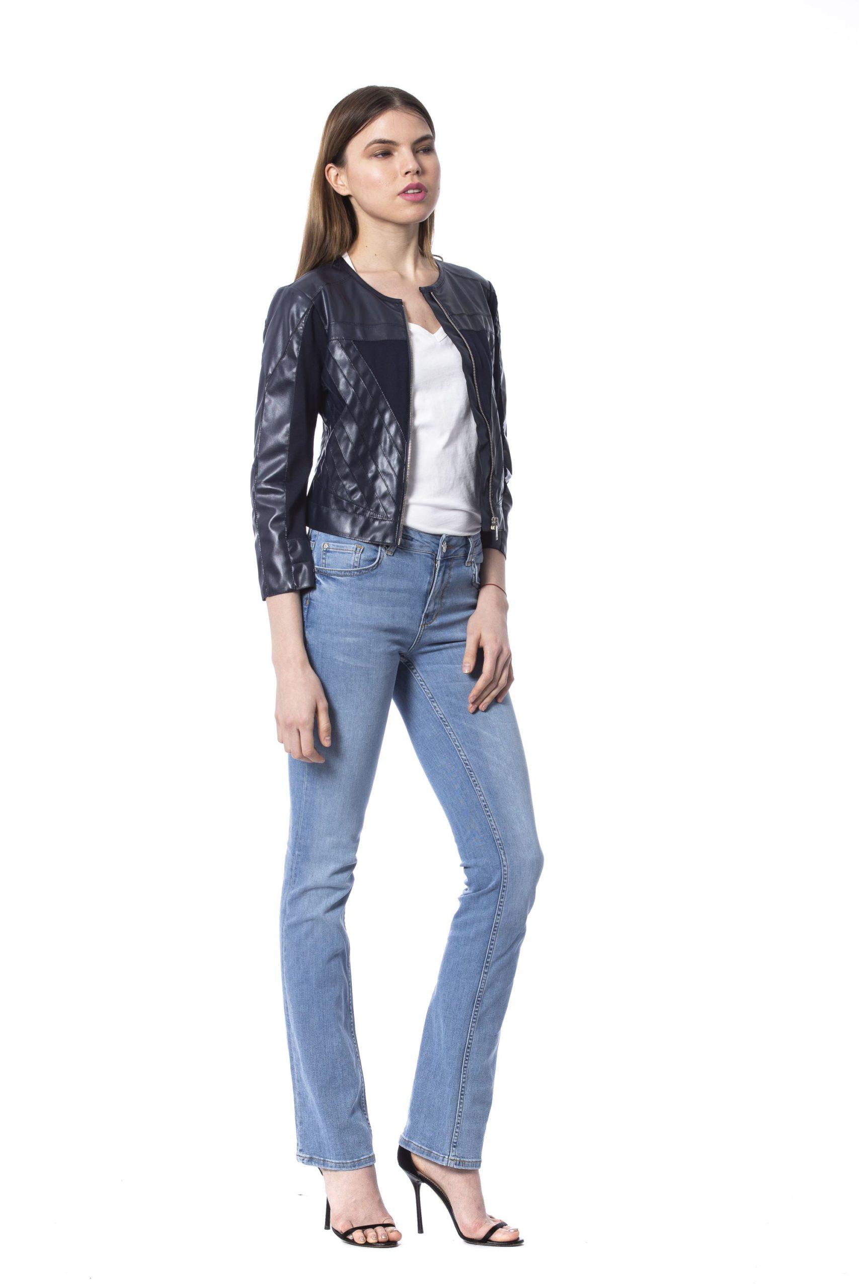 Silvian Heach Women's Jackets Blue SI993940 - XS
