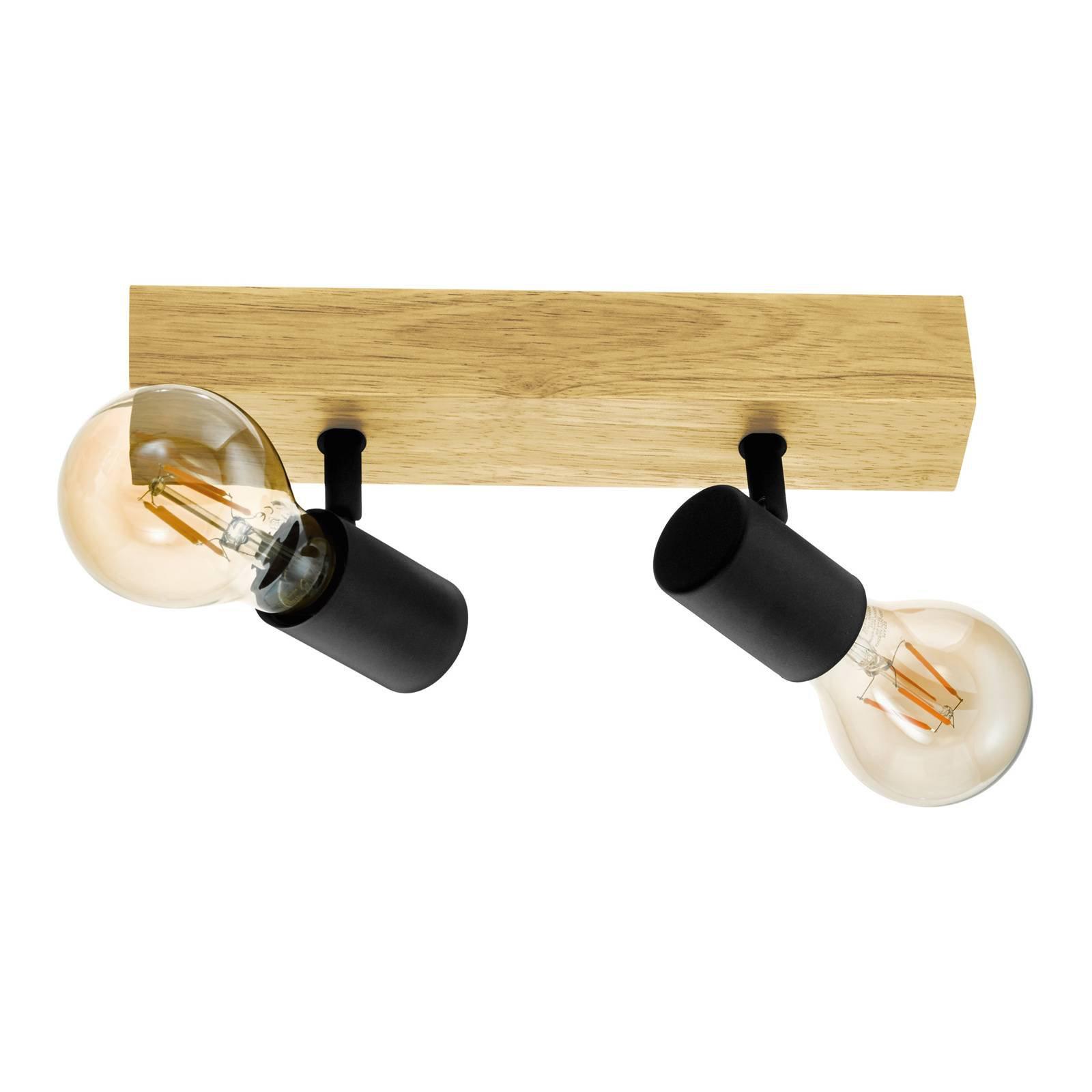 Taklampe Townshend 3 av tre, 2 lyskilder