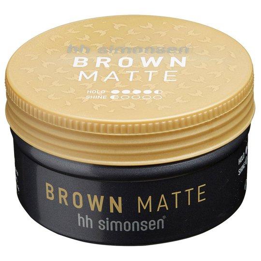 Brown/Matte Wax, 90 ml HH Simonsen Muotoilutuotteet