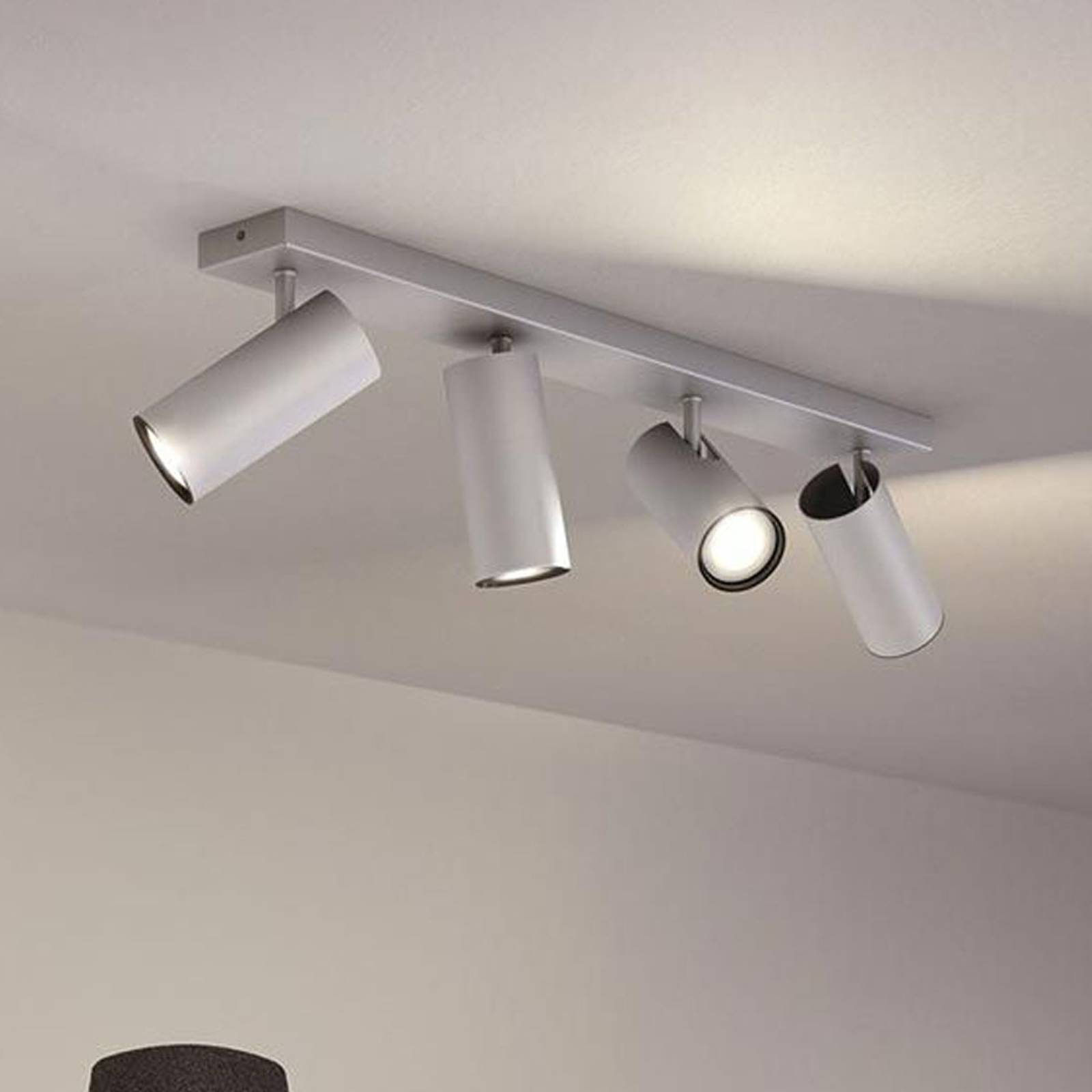Philips Hue Buratto spot alu 4-lamppuinen
