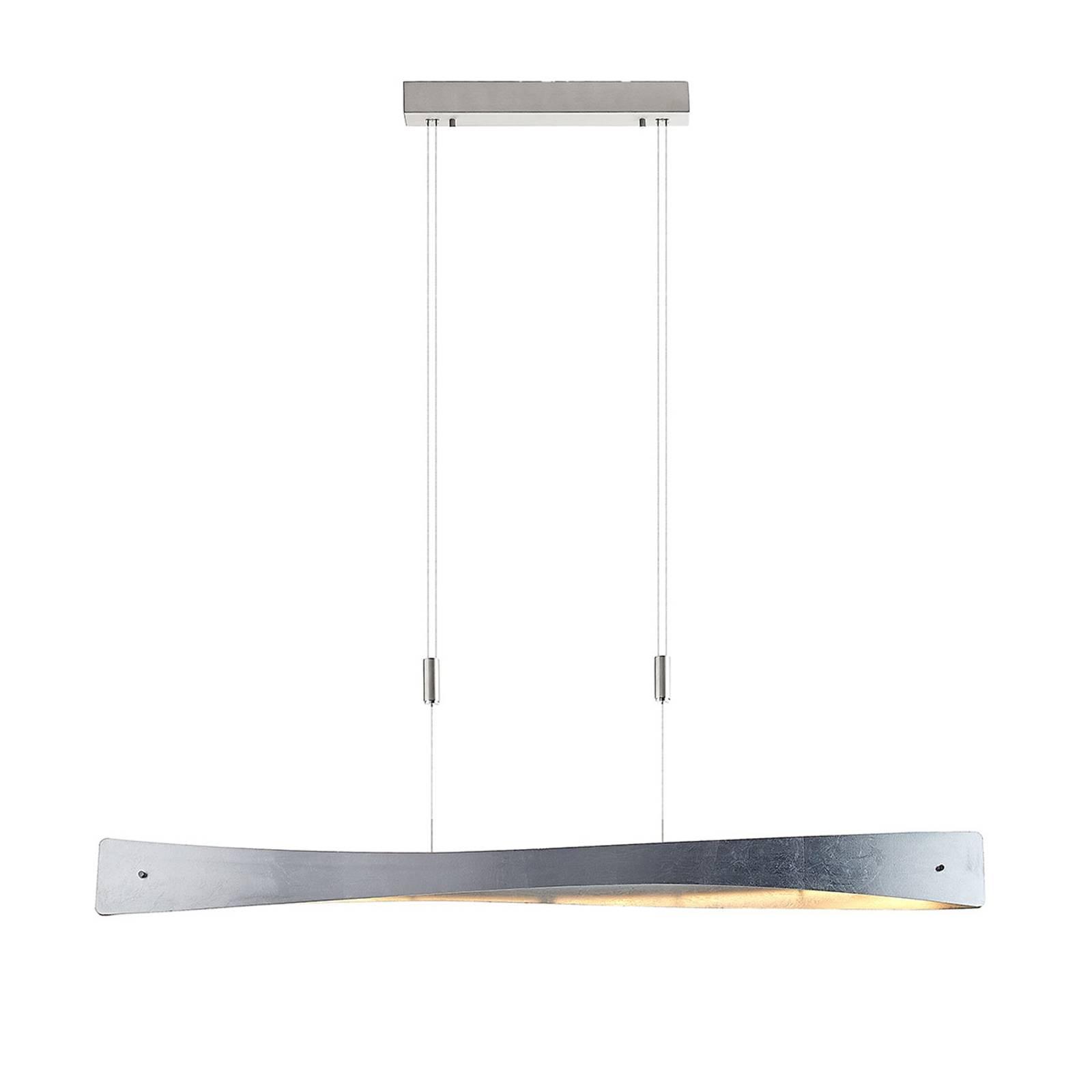 Lindby Beazina -LED-riippuvalaisin, hopea