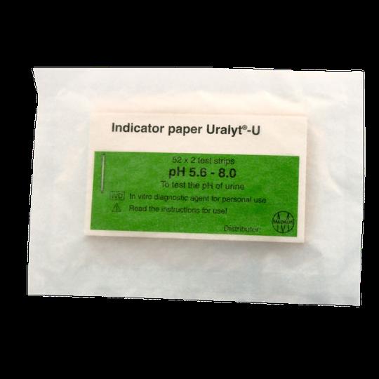 Indikaattoripaperi, pH-arvon mittaukseen