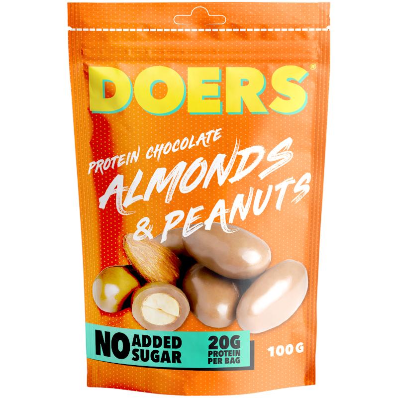 Proteinchoklad Mandlar & Jordnötter - 40% rabatt