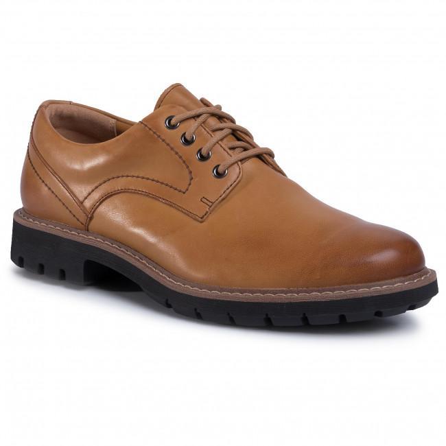 Clarks Men's Batcombe Hall Shoes Various Colours 5050409790120 - 7 UK Tan