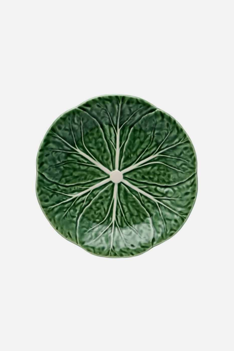Assiette Kål 19 cm grön