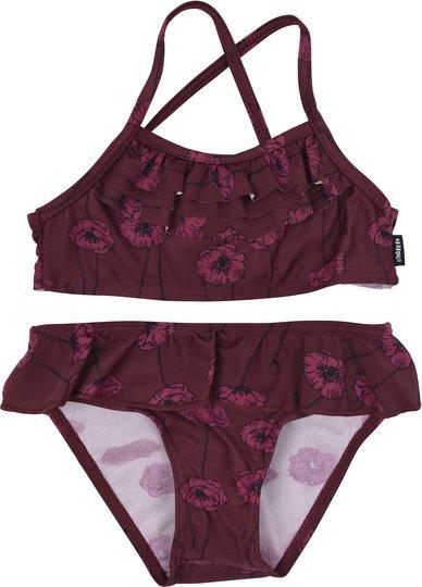 Lindberg Allie Bikini UPF50+, Burgundy, 98/104