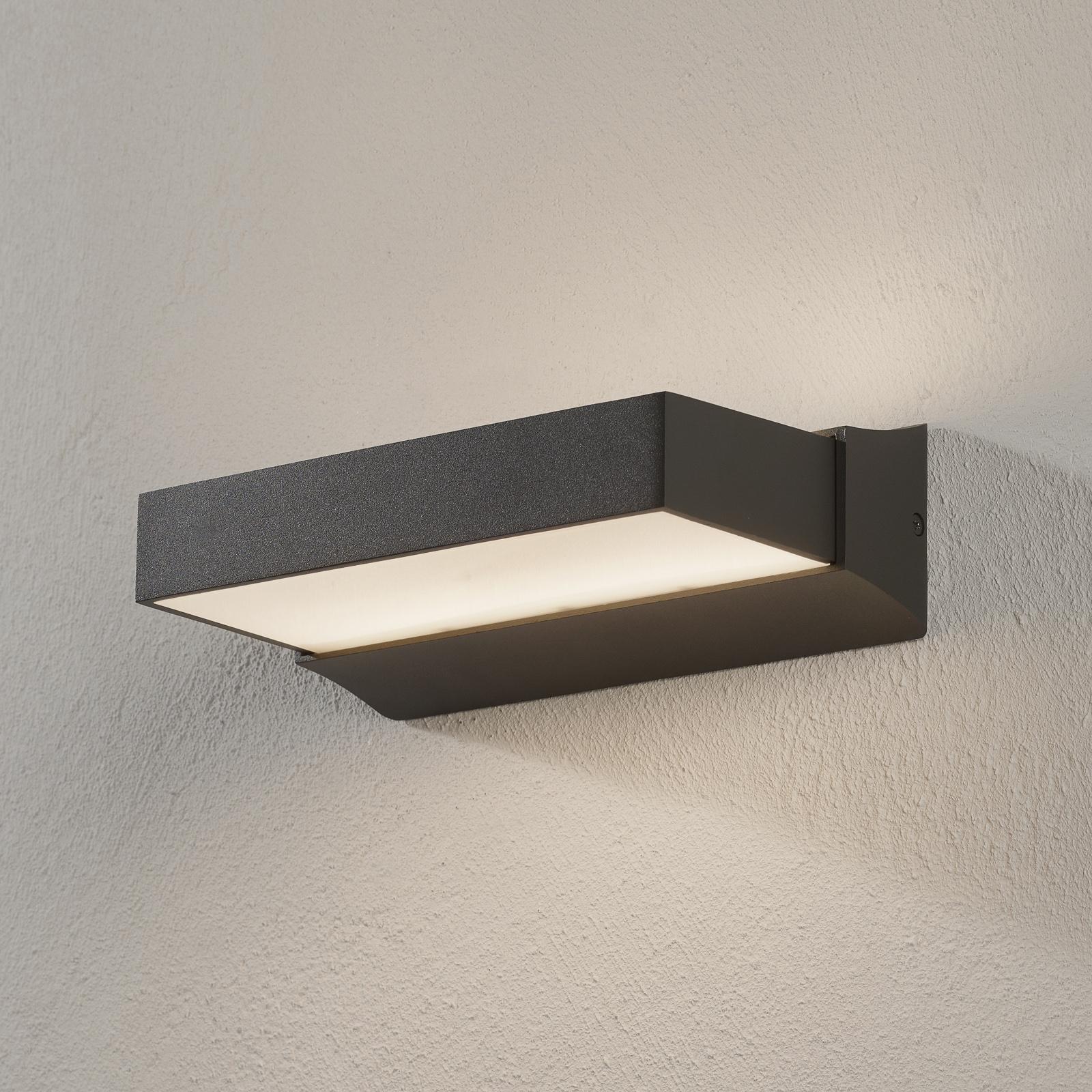 LED-ulkoseinälamppu Cuando, up/down