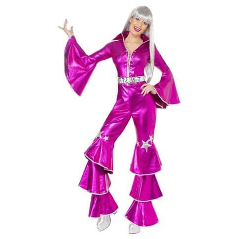 Maskeraddräkt Dancing superstar rosa S