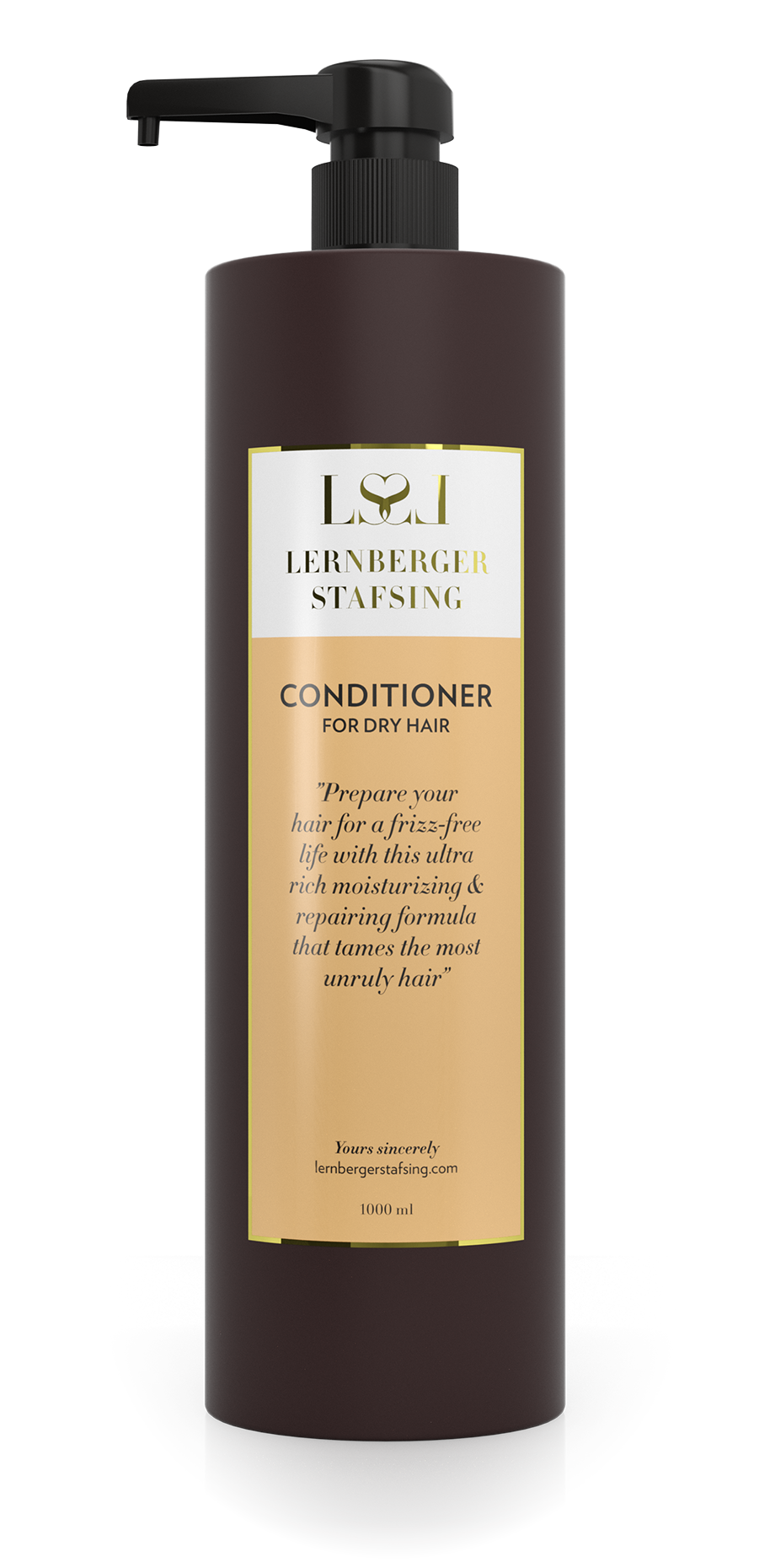 Lernberger Stafsing - Conditioner For Dry Hair w. Pump 1000 ml