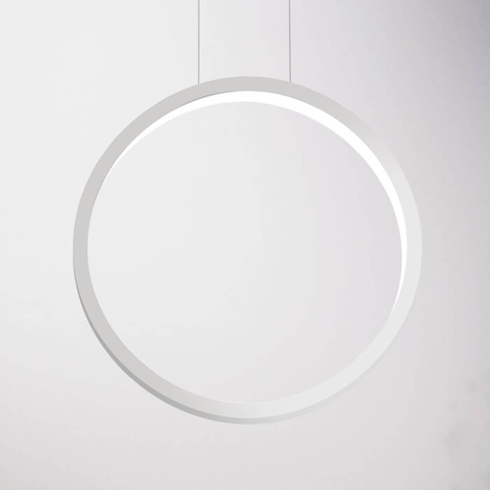 Cini&Nils Assolo - valkoinen LED-riippuvalo, 43 cm