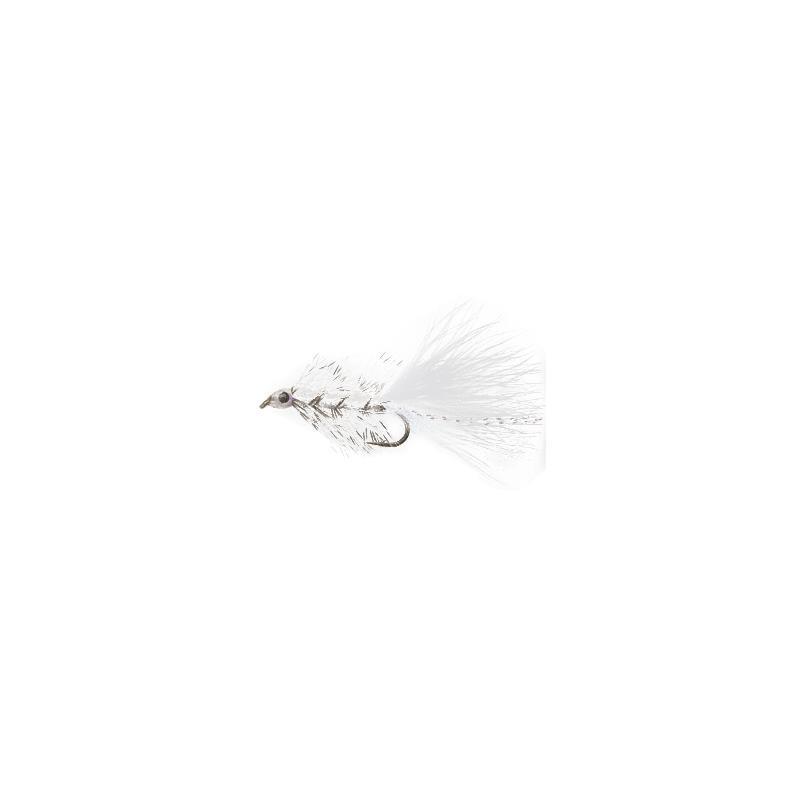 Swim Bugger #8 White Kjøp 12 fluer få gratis flueboks