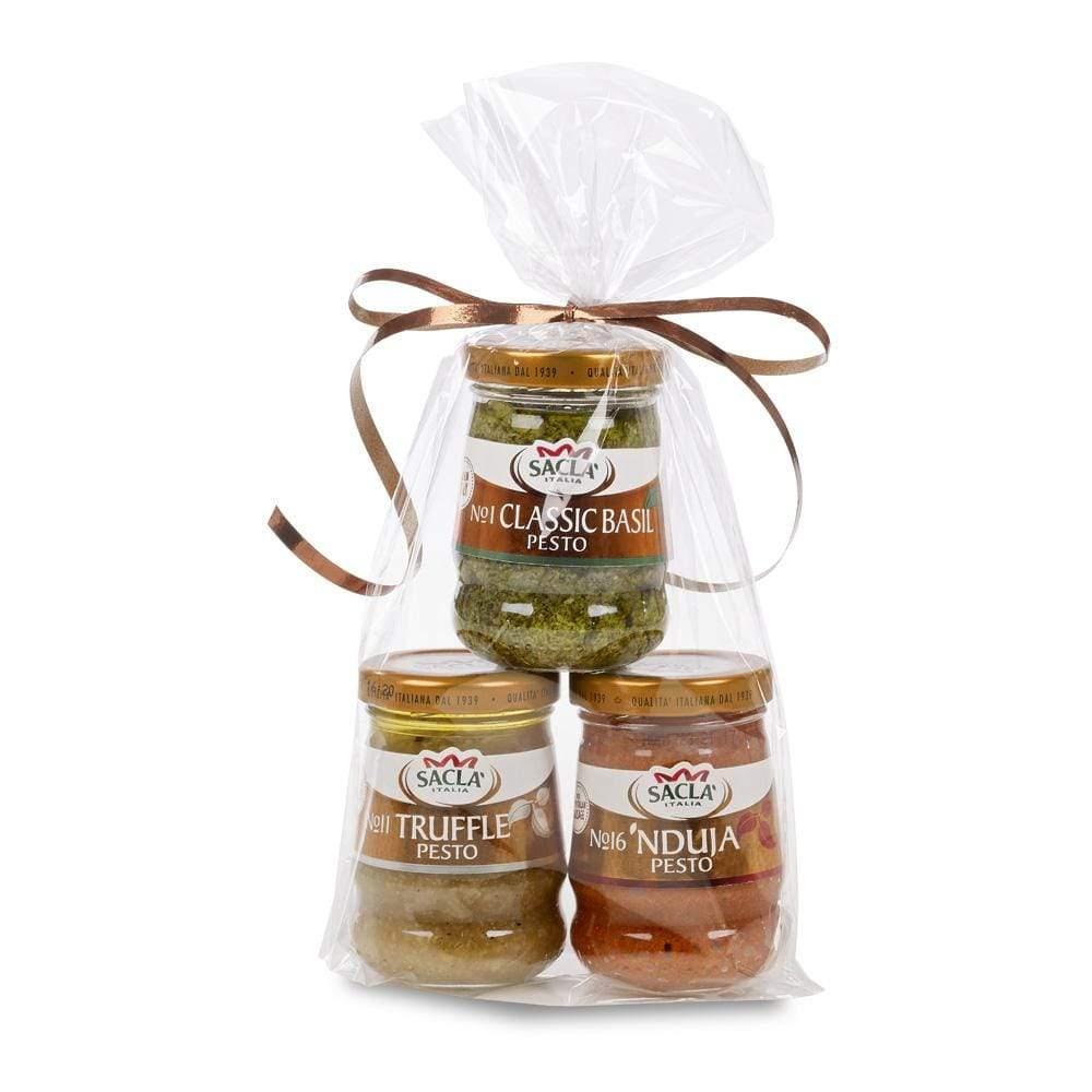 Sacla' Gift Pack: Trio of Pesto