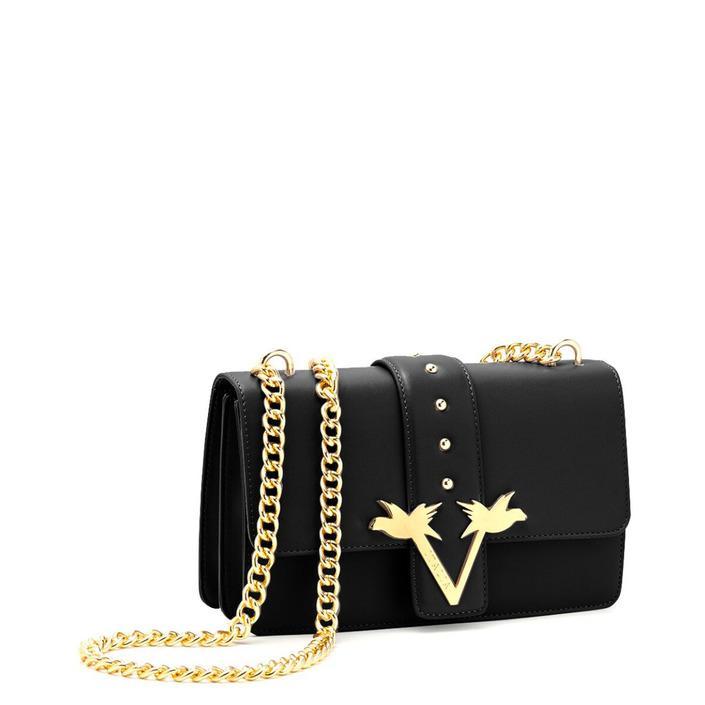19v69 Italia Women's Shoulder Bag Various Colours 318676 - black UNICA