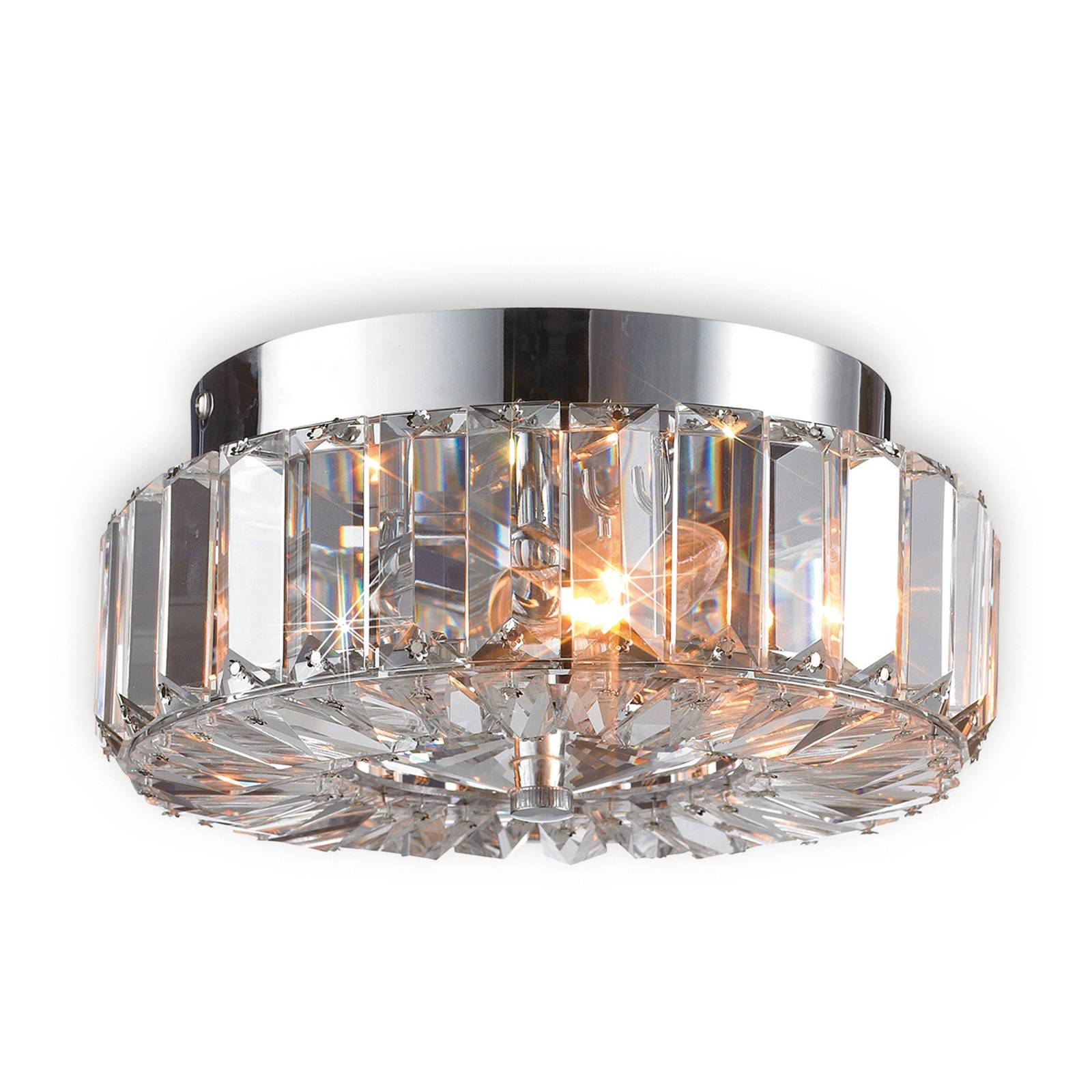Lumoava ULRIKSDAL kattovalaisin kristalleilla
