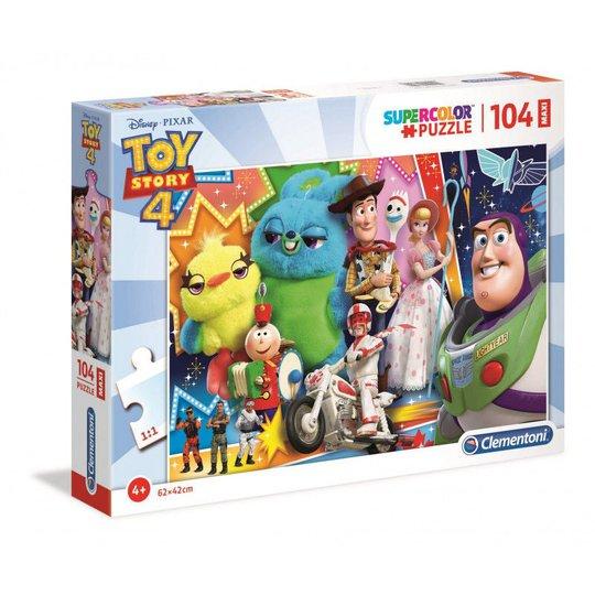 DisneyToy Story 4 Puslespill Maxi, 104 Biter