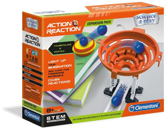 Clementoni Action & Reaction Trampoline Expansion