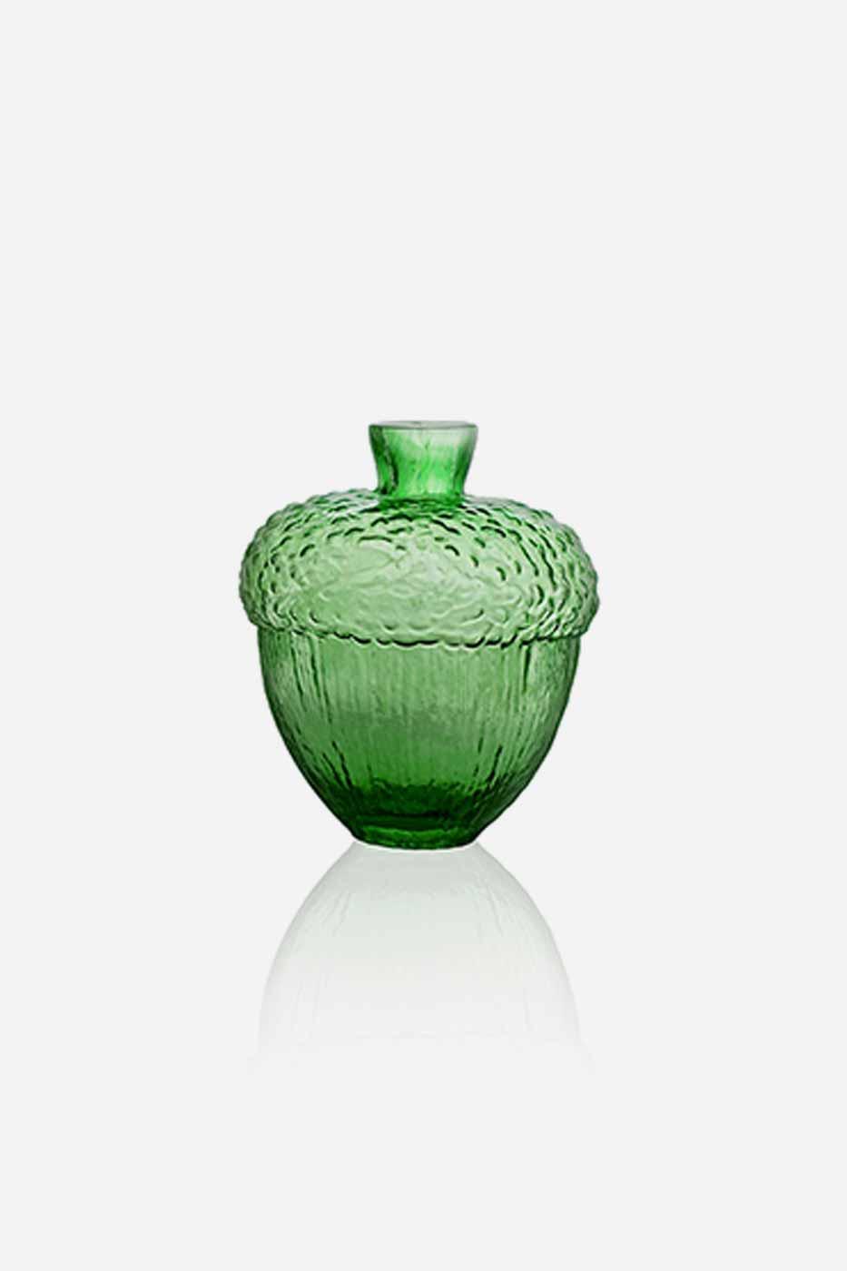Vas Robur 11 cm grön