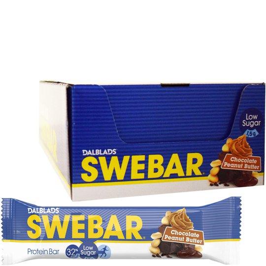 Proteiinipatukat Chocolate Peanut Butter 20kpl - 39% alennus