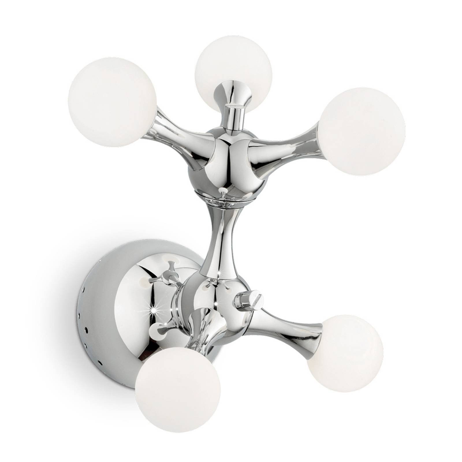 Vegglampe Nodi Bianco, 5 lyskilder, G4