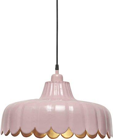 Wells taklampe Rosa/gull 43cm