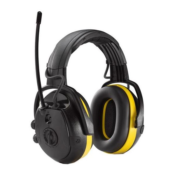 Hellberg SECURE REACT Kuulosuojain Radio, ympäristönkuuntelu, päälakisanka