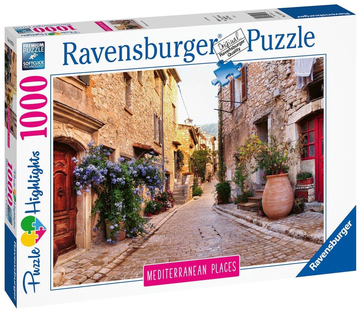 Ravensburger - Puzzle 1000 - Mediterranean France (10214975)