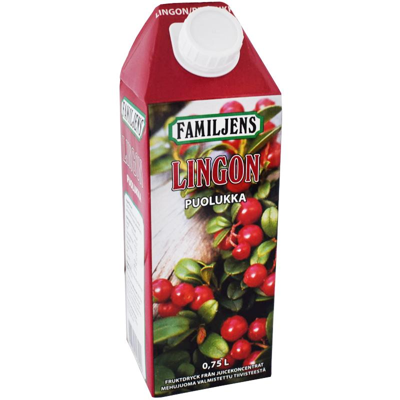 Fruktdryck Lingon - 19% rabatt
