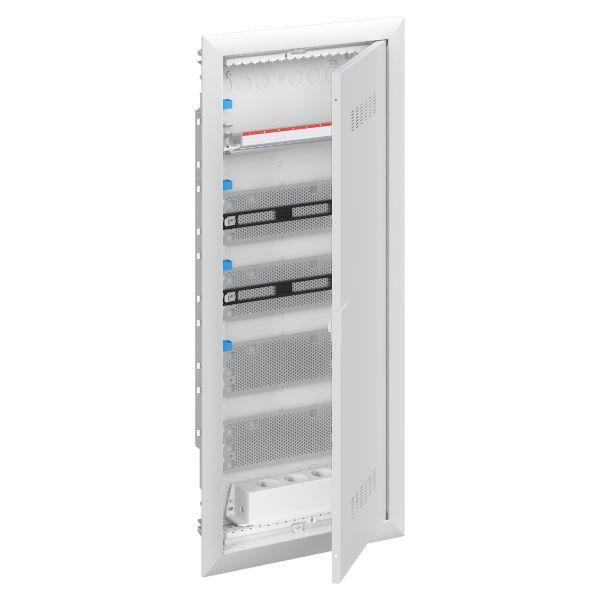 ABB UK600 2CPX031386R9999 Vakiokeskuskotelo upotettu, patch, ilmastoitu ovi 5-rivinen