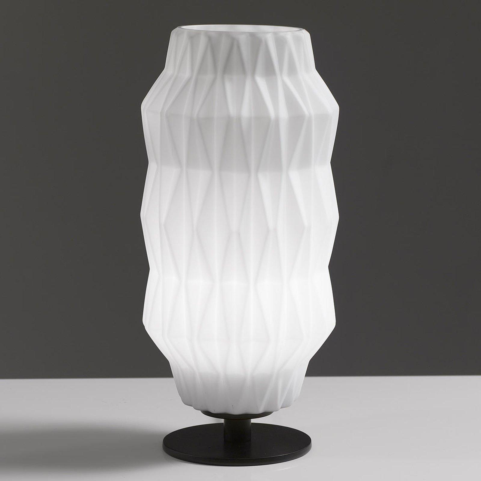 Origami bordlampe, hvit