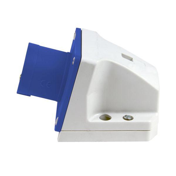 Garo Basic Seinäkatto IP44 3-napainen, 16A, 6h, sininen