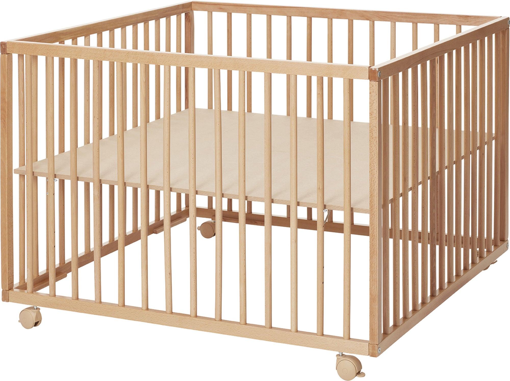 BabyDan Comfort Leikkikehä 99x99x73, Puu