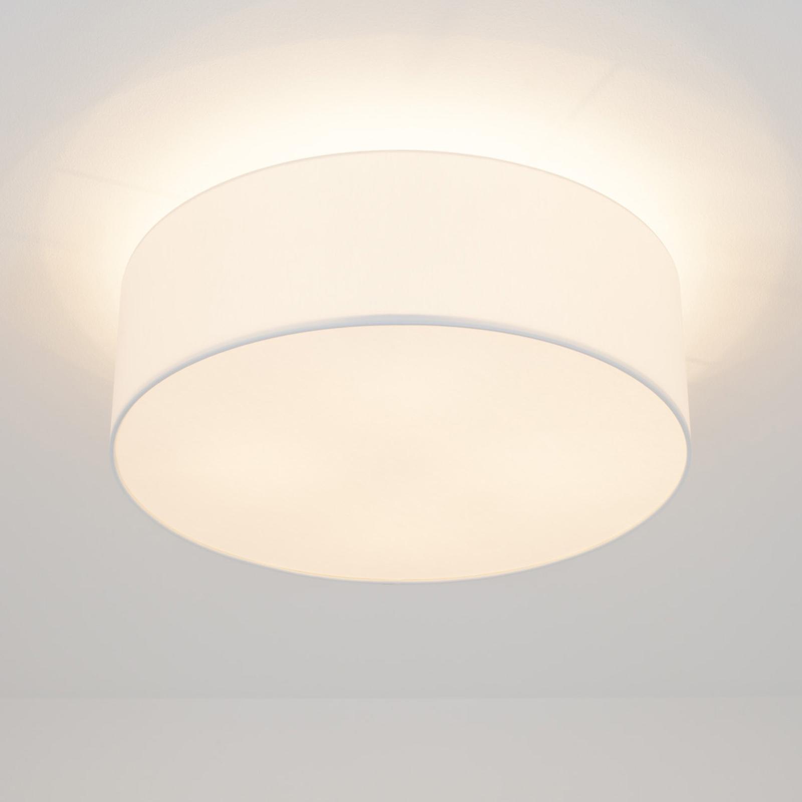 LED-kattovalo Gala, 50 cm, sintsi valkoinen