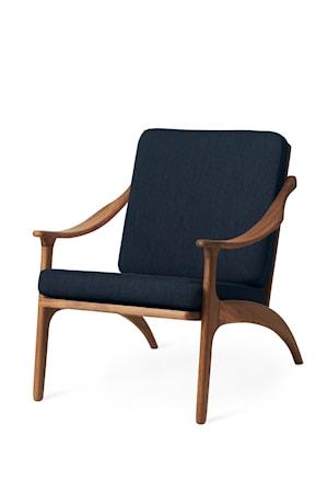 Lean Back Lounge Chair Granite Grey Teak