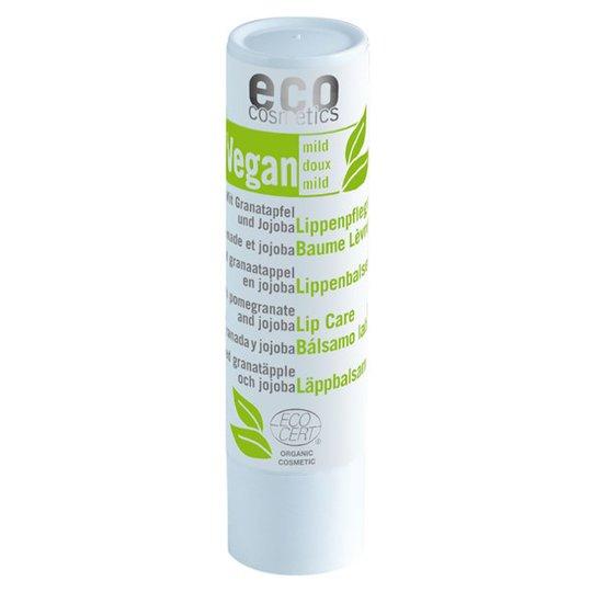 Eco Cosmetics Veganskt Läppbalsam Granatäpple & Jojoba, 4 g