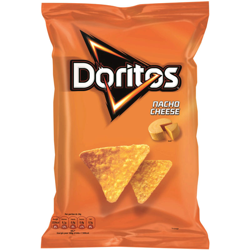 Doritos Nacho Cheese - 21% alennus
